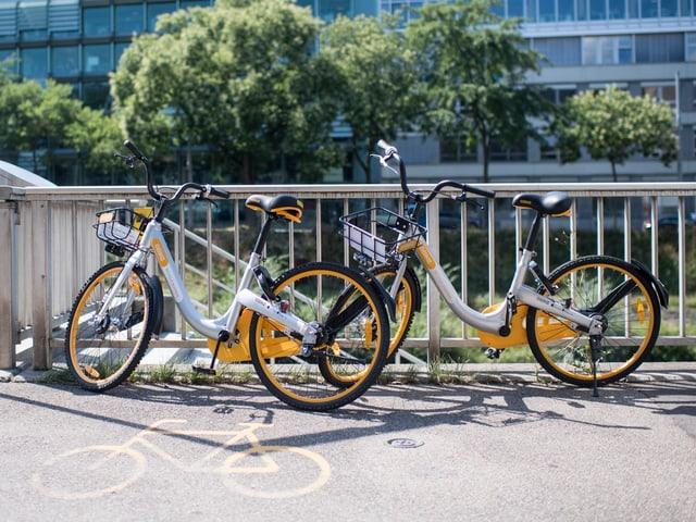 O-Bikes in Zürich