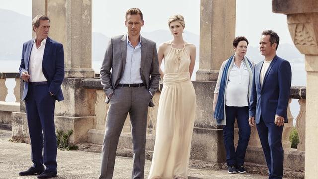 Waffenhändler und Agenten. Hugh Laurie und Tom Hiddleston in der neuen Serie «Night Manager».