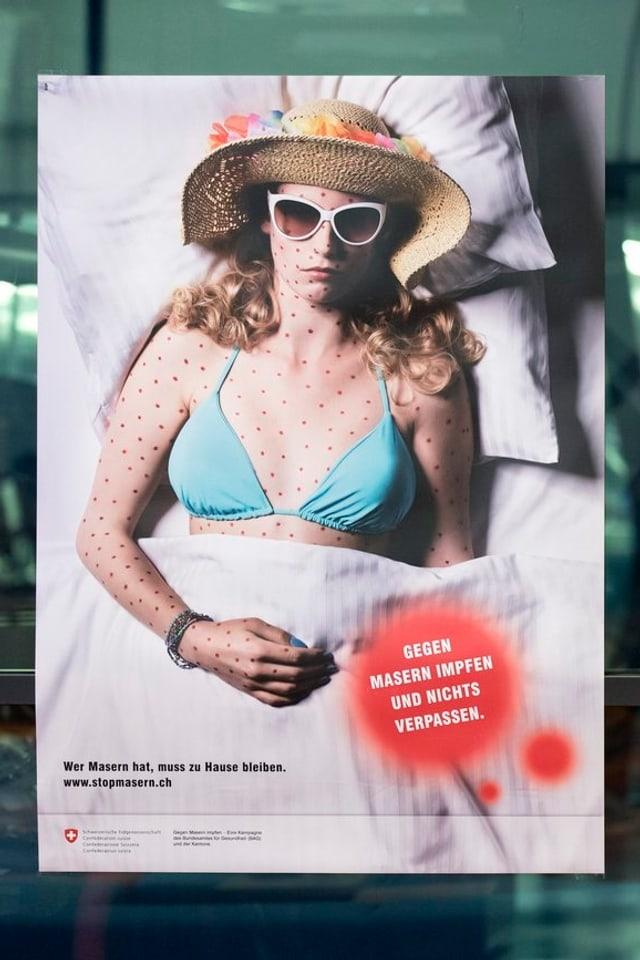Ein Plakat der Impf-Kampagne des BAG.