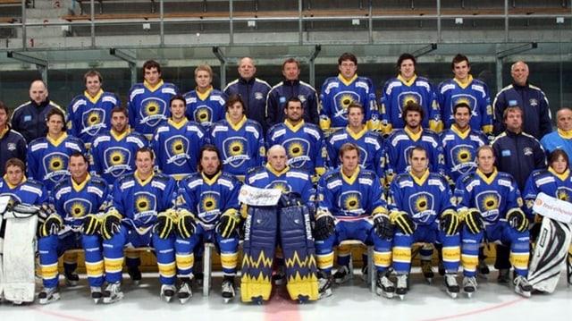 Giugaders dal club da hockey Arosa 2010/11