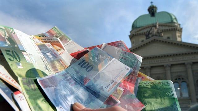 Oriundamain budgetà era in surpli da 400 milliuns francs.