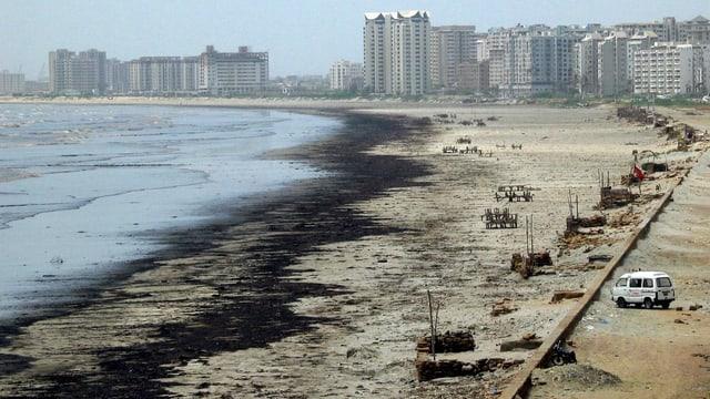 Das verschmutzte Karachi 2003.