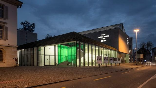 Aussenansicht der Aarauer Kunsthauses.