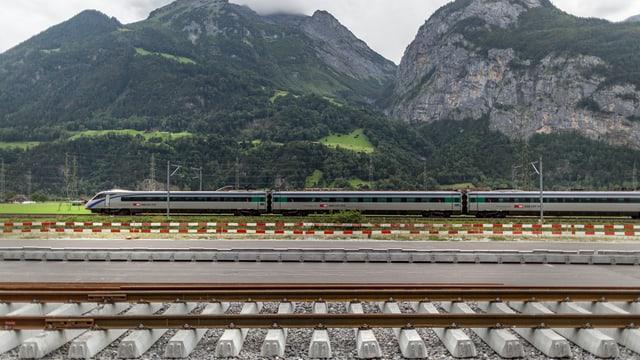 Zug im Kanton Uri