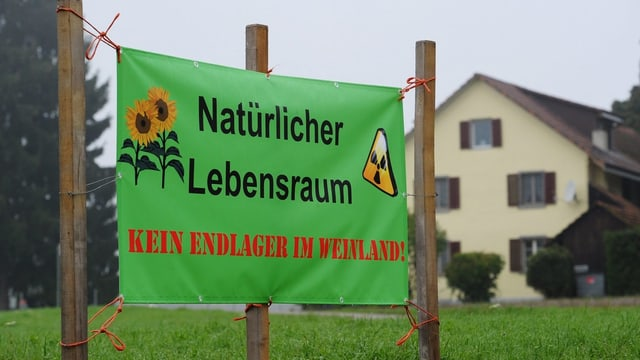 Plakat gege Atomenlager