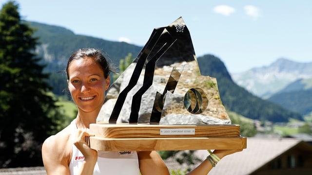 Viktorija Golubic triumfescha a Gstaad e gudogna ses emprim turnier da WTA.