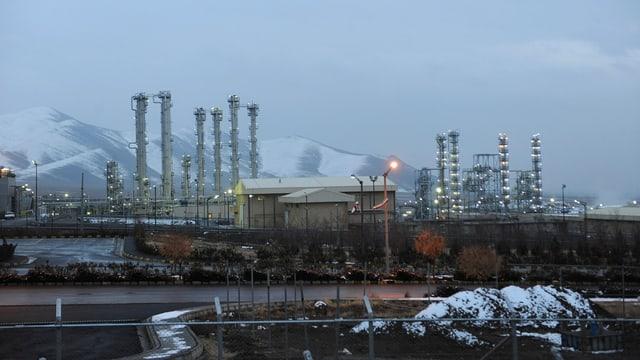 Die Atomanlage in der iranischen Stadt Arak.