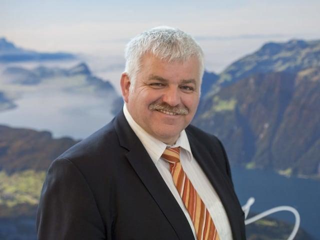 Der 55-jährige Othmar Reichmuth ist gelernter Käser und Handelsfachmann.