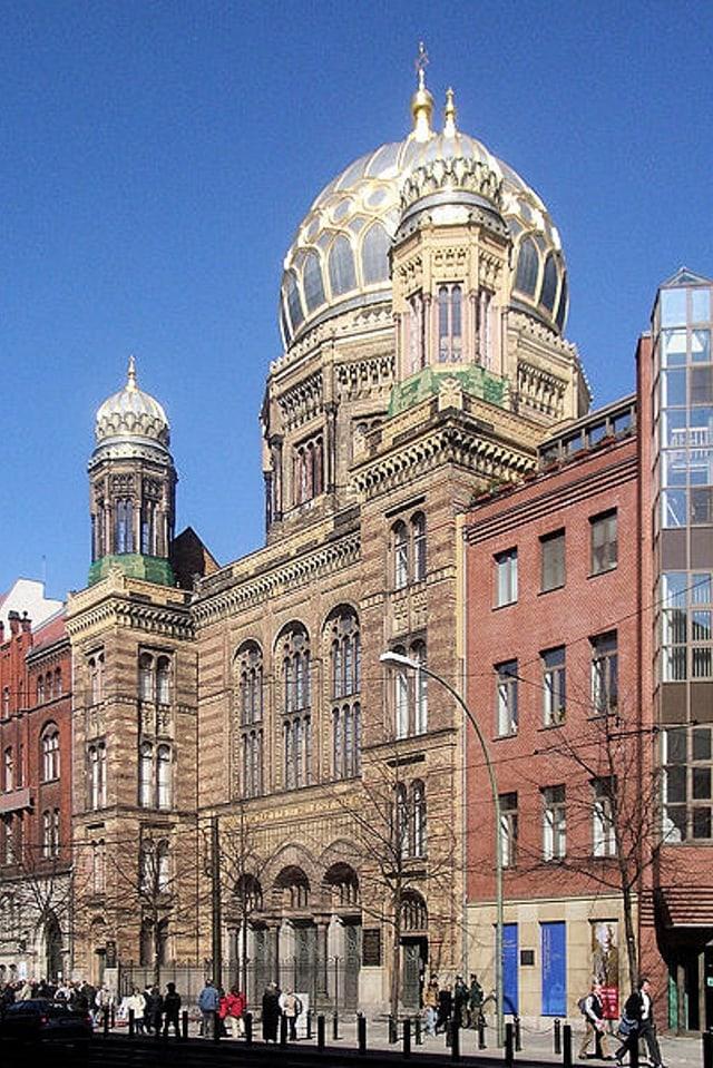 Sinagoga a Berlin en la Germania