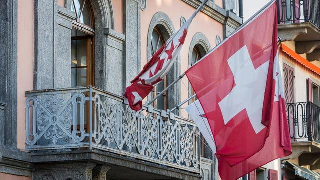 Das Walliser Kantonsparlament von aussen.