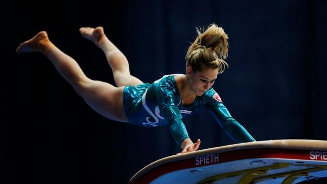gimnastica artistica, Giulia Steingruber en il sigl