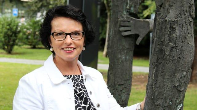 Porträt von Helene Meyer-Jenni