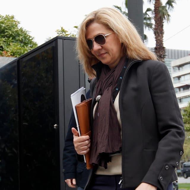 Prinzessin Cristina von Spanien mit Sonnenbrille