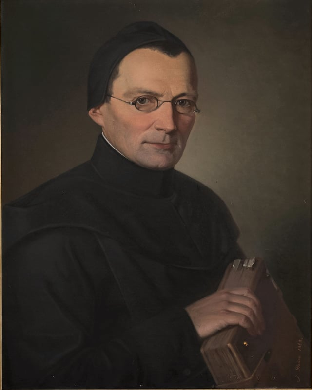Porträt P. Gall Morel