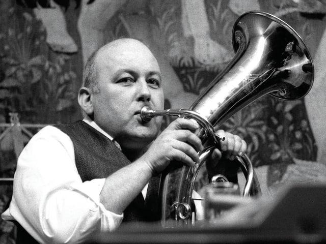 Dieter Roth mit Horn