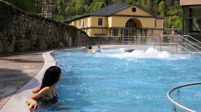 Entspannen im Wellnessbad «Bain du Rocher» in Cauterets.