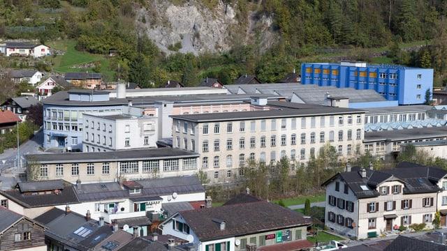 Standort Electrolux in Schwanden