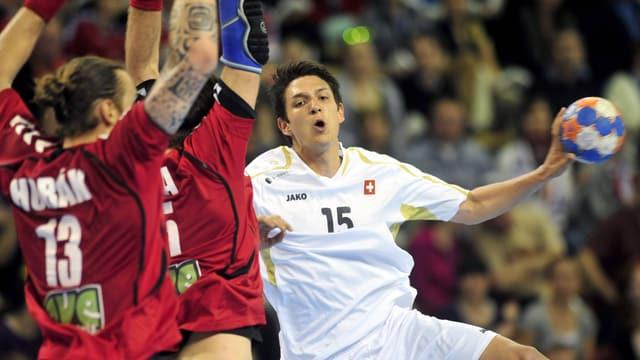Handballer.