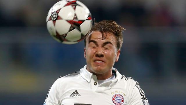 Mario Götze erwartet am Samstag keine einfache Rückkehr nach Dortmund.