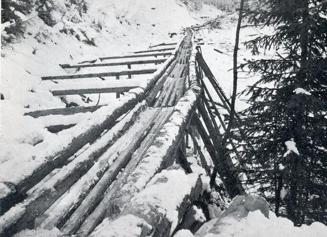 Iral en Val Sampuoir 1925/26