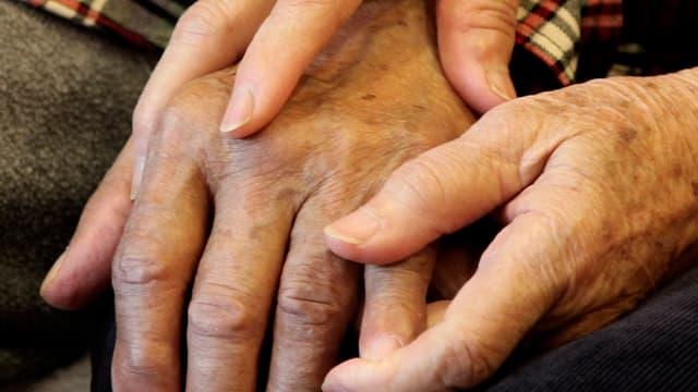 Symbolbild: Hände, die sich halten.