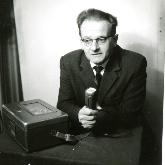 Tista Murk al microfon.