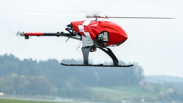 La drona en acziun