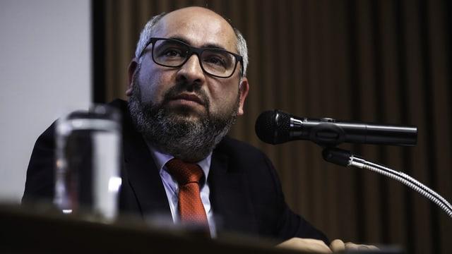 Staatsanwalt Luis Torres.