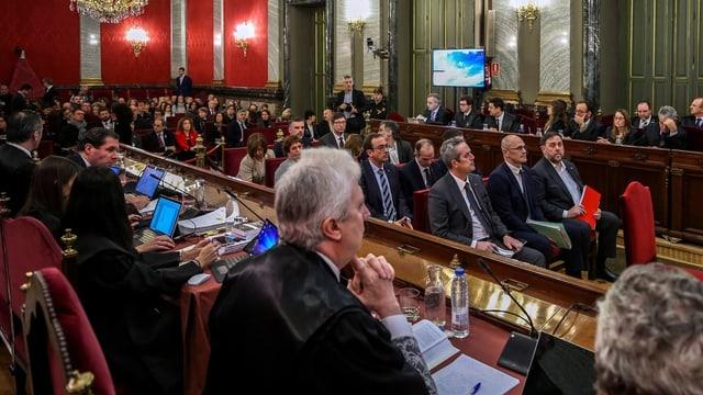 Katalanische Ex-Minister vor Gericht