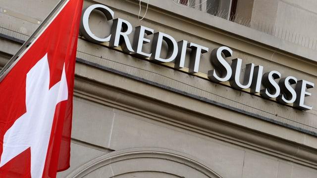 Fassade der Credit Suisse in Zürich