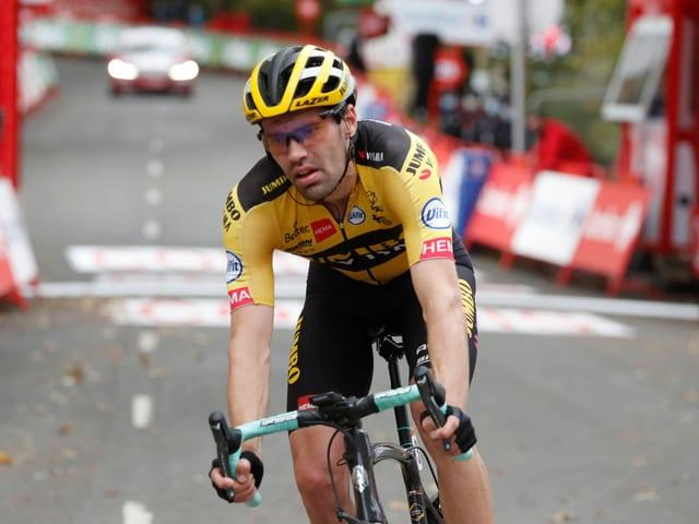 Tom Dumoulin bei der Vuelta im letzten Herbst.