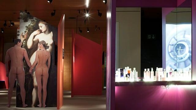 Einblick in die Ausstellung «Bin ich schön?»