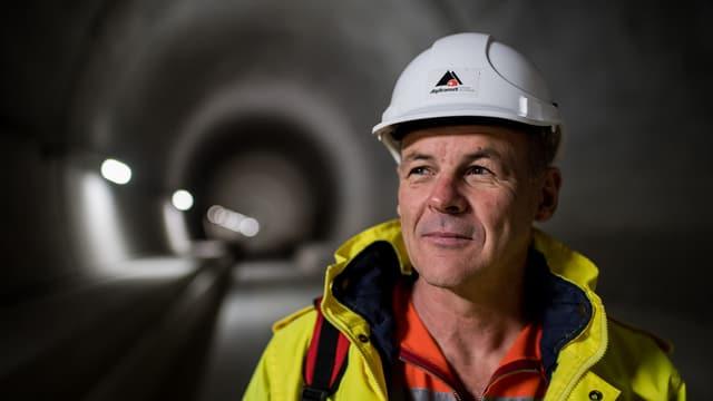 Vor einem Jahr übergab Renzo Simoni den Gotthard-Basis-Tunnel der SBB.
