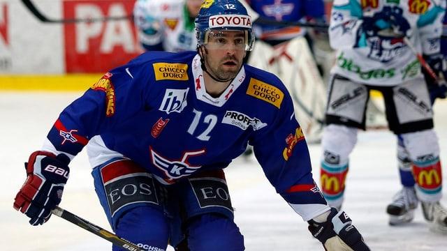 Alexandre Giroux - hier im Dress der Kloten Flyers - wechselt zu Ambri.