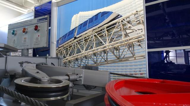Actualmain furnescha la firma Doppelmayr/Garaventa in tren per in eroport en Russia.