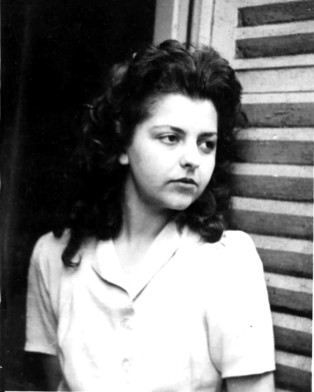 Madeleine Riffaud im Jahr 1944.