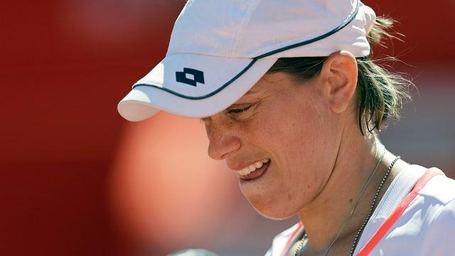 Romina Oprandi lief es in der 2. Runde nicht nach Wunsch.
