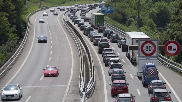 Maletg simbolic d'autostrada