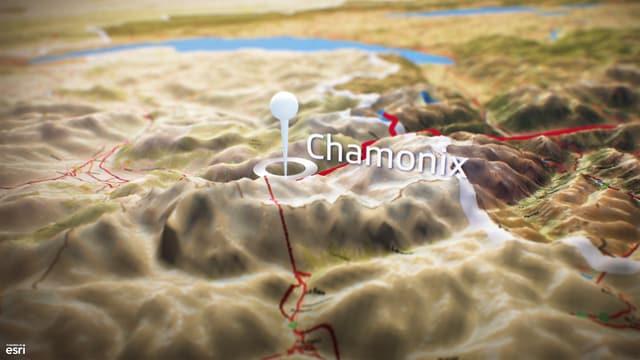 Video «Live aus Chamonix, Start zur Aiguille de Tour» abspielen