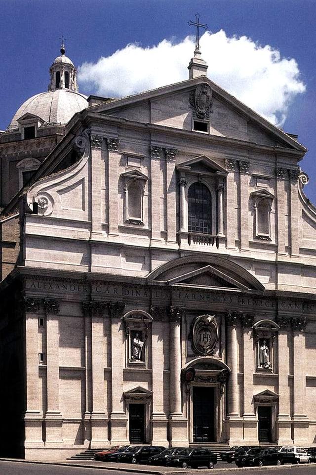 Eine grosse Kirche in Rom.