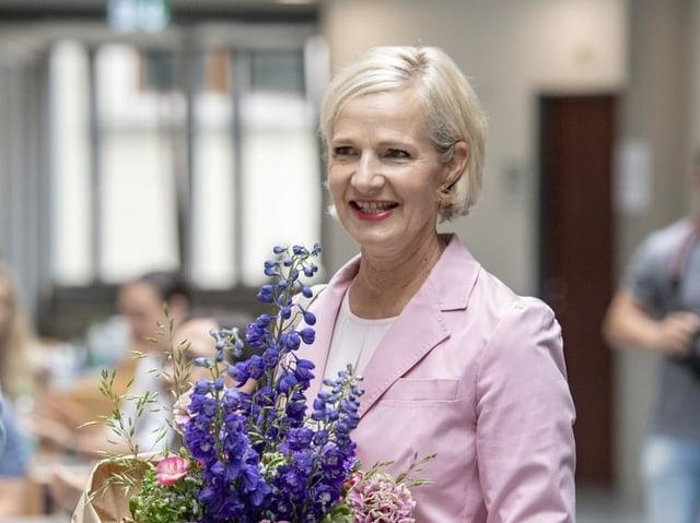 Die 57-Jährige Manuela Jost, Grünliberale
