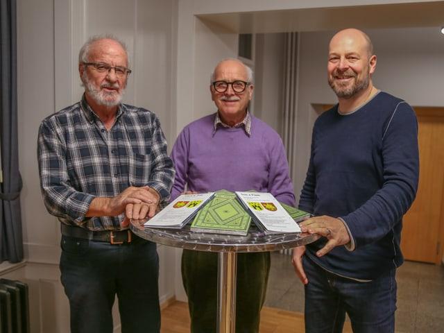 Johann Clopath, Christian Joos, Manfred Veraguth