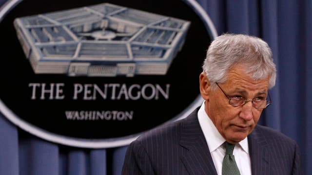 Schliesst Waffenlieferung an Syriens Rebellen nicht mehr aus: Pentagonchef Chuck Hagel
