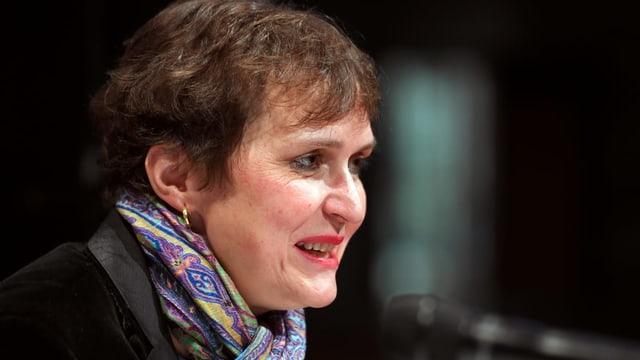 Theaterregisseurin Barbara Frey gibt öffentlich Auskunft