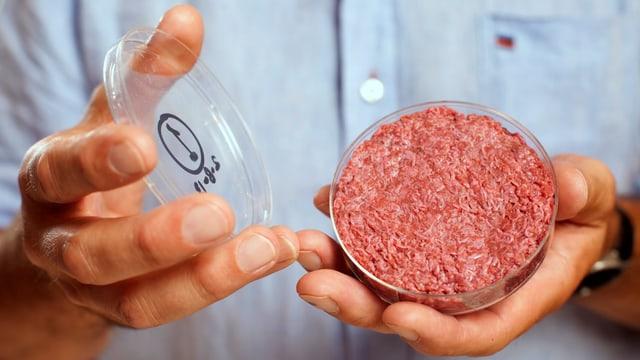 Der erste Burger aus dem Labor, 2013