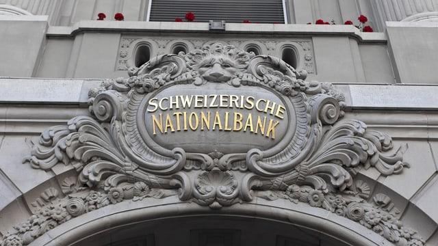 La Banca naziunala svizra.