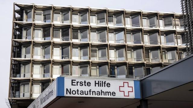 Das Benjamin-Franklin-Spital in Berlin-Steglitz.