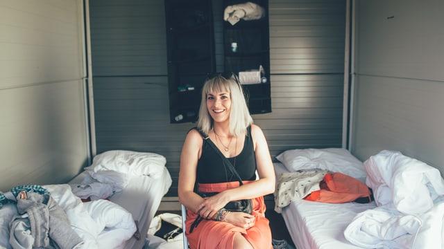 Tina Nägeli im Premium Loft