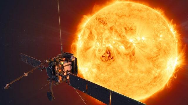 Auf halben Weg zwischen Erde und Sonne