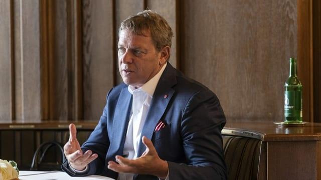 Il president da Gastrosuisse Casimir Platzer.